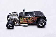 Vintage Hot Wheels Street Rodder '32 Ford Roadster, Hot Rod w/Flames, 1973, Hong Kong, Die-cast Toy Car Collection by RememberWhenToys on Etsy