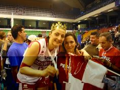 Together with one of the best Italian players of all time, Carolina Costagrande