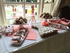 Parisian themed desserts #kellogghouse #bridalshower #spring #venue #events #event