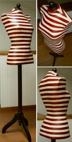 Maniquí hecho a mano / Handmade dress form