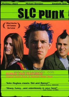 I could watch SLC punk another 9 million times and still never tire of it. I love this movie.