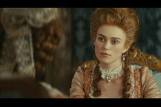 Keira Knightley as Lady Georgiana Cavendish in The Duchess Duchess Georgiana, Georgiana Cavendish, The Duchess Of Devonshire, The Other Boleyn Girl, Jeremy Irons, Keira Knightley, Marie Antoinette, Female Characters, Masquerade