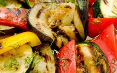 Top 10 Ideas for Grilled Vegetables - Top Inspired Grilled Zucchini, Grilled Vegetables, Red Cabbage With Apples, Frozen Scallops, Vegetable Tian, Dieta Fitness, Scallop Recipes, Carrot Recipes, Best Breakfast