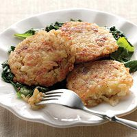 Cheesy Rice Fritters. Everyday with Rachael Ray.