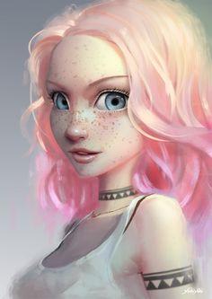 ArtStation - Light Pink, Cassio Yoshiyaki