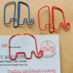 Elephant Shaped Paper Clip