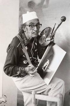 """huariqueje:  """" Salvador Dali in Cadaques  """""""