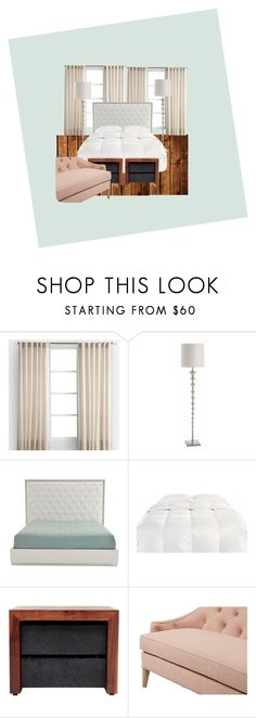 """""""Bedroom #3"""" by ivvancentiv ❤ liked on Polyvore featuring interior, interiors, interior design, home, home decor, interior decorating, Arteriors, artless, Dana Gibson and bedroom"""