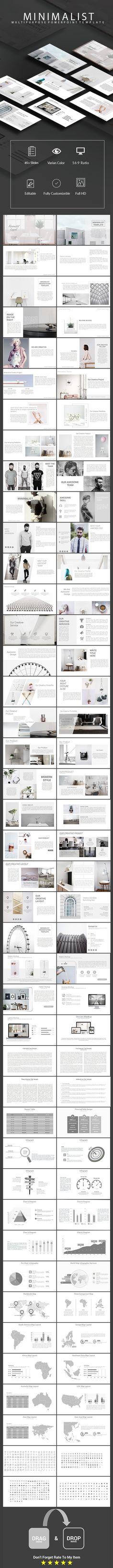 Minimalist - Multipurpose Powerpoint Template (PowerPoint Templates)