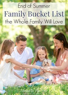 End of summer family bucket list ideas the whole family will love. Enjoy the rest of summer with these fun family bucket list ideas. Fun for the whole family. Activities for the whole family. Happy Summer, End Of Summer, Summer Fun, Summer Ideas, Summer Months, Bucket List Family, Summer Bucket Lists, Water Activities, Family Activities