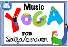 Do your students need for brain breaks? Are you looking for a fun way to review music symbols? Research shows that sitting for long periods of time is horrible for our brains and bodies. Including opportunities to move in my classroom are always welcome. These yoga-inspired activities are great for students in Kindergarten through 10th grade. This product includes YOGA CARDS inspired by music solfa/curwen hand symbols that students can make with their whole bodies as well as 5 activities.