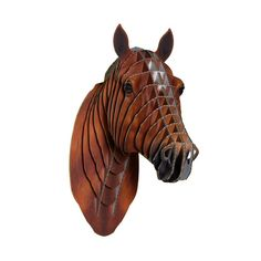 Meet Pippin the Cardboard Horse in this Lifelike print that displays his beautiful brown coat!