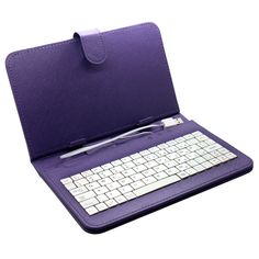 """$9.95 (Buy here: http://appdeal.ru/5wfp ) Universal 7 inch Tablet PC USB Keyboard Faux Leather Stand Case Cover For Samsung Galaxy Tab 2 7"""" P3100 P3110 Wholesale / Retail for just $9.95"""