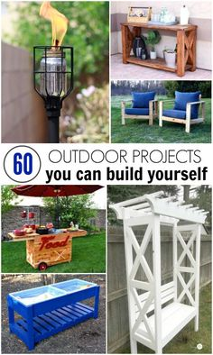 60 of the Best DIY Outdoor Projects You Can Build Yourself