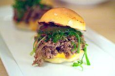 Try the Bulgogi sliders at Danji. Restaurant Trends, Bulgogi, Serious Eats, Small Plates, Places To Eat, Sliders, Tapas, Korean, Canning