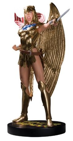 DC Direct Cover Girls of the DC Universe: Wonder Woman (Armored) Statue. Dc Comics Action Figures, Comic Art Community, Wonder Women, Dc Universe, Covergirl, T 4, Comic Books, Princess Zelda, Fictional Characters