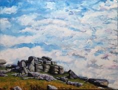 Buy Dartmoor Calling, Oil painting by Matt Buckett on Artfinder. Discover thousands of other original paintings, prints, sculptures and photography from independent artists. Dartmoor, Oil Painting On Canvas, Lovers Art, Buy Art, Original Paintings, Sculptures, Sky, Display, Artwork