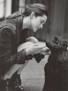 just like this--- not exactly sure why....portrait of marion cotillard • bruce weber