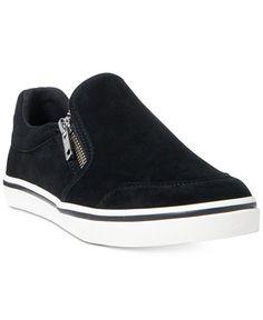 Lauren Ralph Lauren Jeorgia Slip-On Sneakers Shoes - Sneakers - Macy s f30aa70c7aa