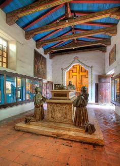 Father Junipero Serra at Carmel Mission Basilica - Carmel, CA