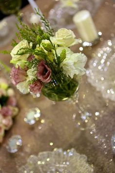 The Wedding Expo Table Top Decor competition entrant March Red in Paris Events. Photography by SDR Photo.