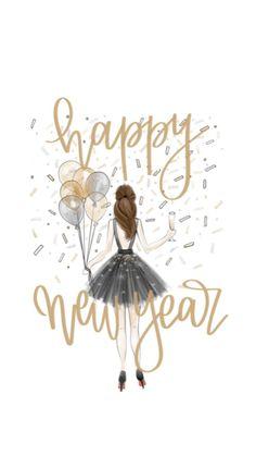 Nouvel An New Mindset - Joyeux Noel Happy New Year Quotes, Quotes About New Year, Happy New Year 2019, Vintage Happy New Year, Happy New Year Images, Happy New Year Greetings, Happy Quotes, Christmas Quotes, Christmas Art