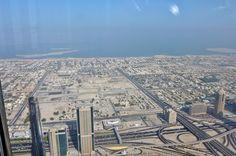 Vue de Dubai depuis la tour Burj Khalifa