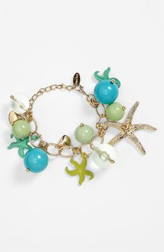 'Under the Sea' Charm Bracelet