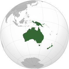 List of sovereign states and dependent territories in Oceania - Wikipedia
