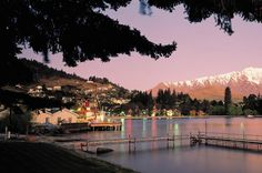 Lake Wakatipu in New Zealand - beautiful! New Zealand Tours, New Zealand Travel, The Places Youll Go, Places To Visit, Pacific Destinations, Lake Wakatipu, Small Group Tours, Places Of Interest, Vacation Packages
