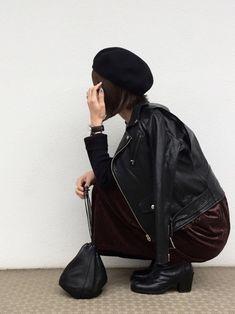 cota_raさんの「■別注■beautiful people×MIDWEST ライダースジャケット(beautiful people|ビューティフルピープル)」を使ったコーディネート