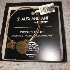 Brand New Alex and Ani Wrigley Field Bracelet Unworn, still in box with the tag, Wrigley Field (MLB) Alex and Ani Bracelet Alex & Ani Jewelry Bracelets