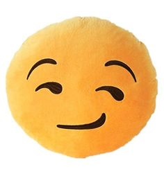 NO:1 Emoji Smiley Emoticon rond coussin oreiller farcies peluche Soft Toy rusé visage NO:1 http://www.amazon.fr/dp/B00YC82D8I/ref=cm_sw_r_pi_dp_TJSLwb1KEH4PW