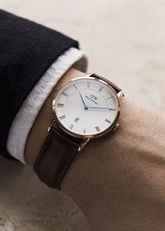 New at FMJ!! Daniel Wellington Dapper collection! WATCH how this simple addition can perfect your suit!!