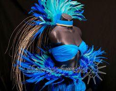 Danza tahitiana cocinar traje de estilo isla por iheartpolynesia