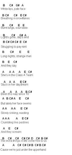 Flute Sheet Music: A-Team p1