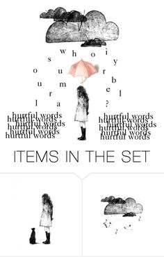 """Who is your umbrella?"" by sunshine-and-seawater ❤ liked on Polyvore featuring art and urmyumbrella"