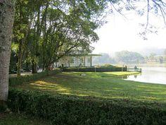 Parque das Águas e a Fonte Vichy.