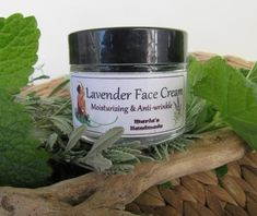 Facial Cream with Lavender - Organic  This plant is a gift of nature with its delightful aroma!  This cream treats skin problems such as acne rosacea, eczema, psoriasis and sunburn.  It cures wounds, insect bites or stings and headaches. It encourages blood circulation and relieves from stress or depression. It also helps with creative-expression and mental feeling.  Quantity: 15 ml (Sample), Glass Jar with Screw Top Lid 40ml, Glass Jar with Screw Top Lid 60ml, Glass Jar with Screw Top Lid Organic Face Cream, Homemade Essential Oils, Acne Rosacea, Organic Face Products, Eczema Psoriasis, Insect Bites, Facial Cream, Face Creams, Oral Hygiene