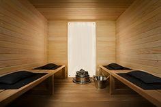 With Winter weather like this its no wonder we are gazing at pictures of saunas! Quick, lets get to the nearest spa! Spa Bathroom Themes, Brown Bathroom Decor, Bathrooms, Spa Jacuzzi, Spa Tub, Sauna Steam Room, Sauna Room, Interior Garden, Interior Design
