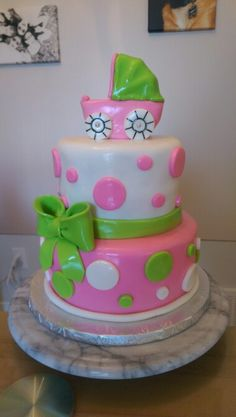 Baby shower cake Cake Face, Baby Shower Cakes, How To Make Cake, Birthday Cake, Desserts, Food, Cakes Baby Showers, Tailgate Desserts, Birthday Cakes