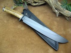 "Mountain Hollow Knives | ""Elk Handle"" Field-Bush Knife"