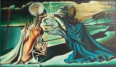 Salvador Dali Tristan and Isolde (Original)