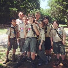 These boys survived a night of camping on our grounds, and were awake and ready to volunteer at #cwfestival the next morning! We are so grateful to our friends at The Last Frontier Council - Boy Scouts of America for making this event so great! #mywest