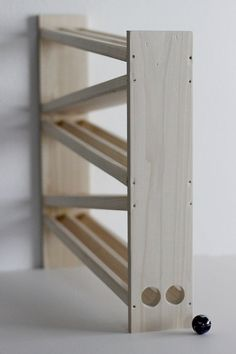 """Our marble run for 1"""" marbles"""