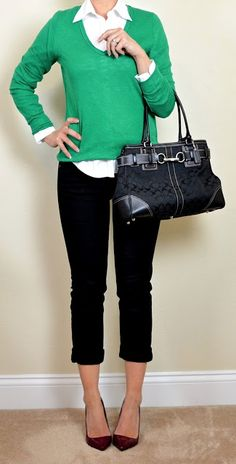 Kelly Green Pants On Pinterest Casual Professional