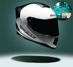 증강현실 모터사이클 헬멧