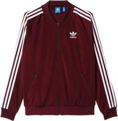 adidas SST TT W Giacca da tuta Adidas Jacket Windbreaker, Tracksuit Jacket, Sporty Outfits, Nike Outfits, Fashion Wear, Fashion Outfits, Adidas Outfit, Kids Outfits Girls, Athletic Fashion