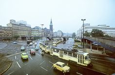 1984. Leipzig. Tröndlinring. ORWOCHROM, Scan vom Dia.