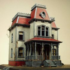 """Bates Mansion"" by Su Moran"